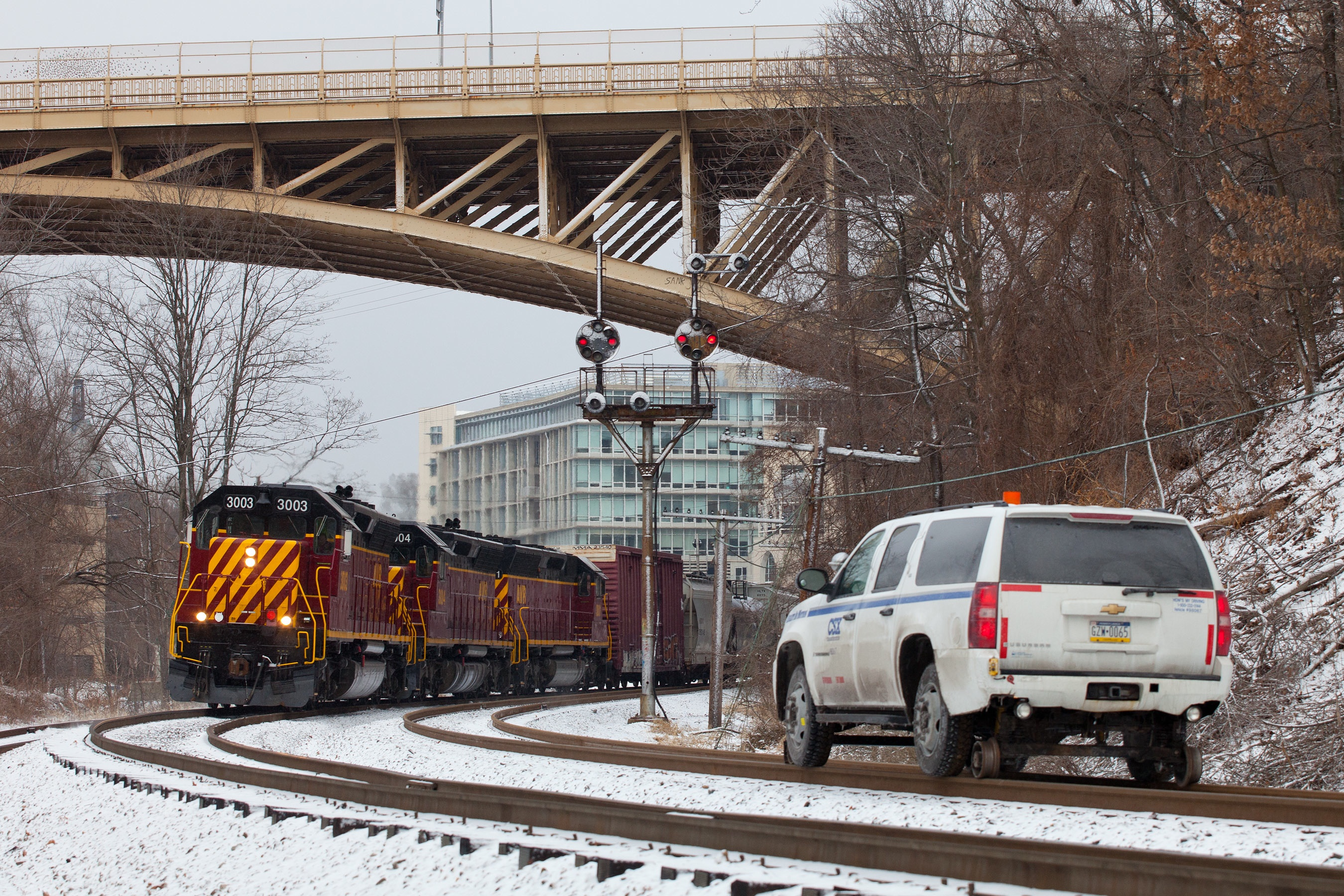 AVR at East Schenley