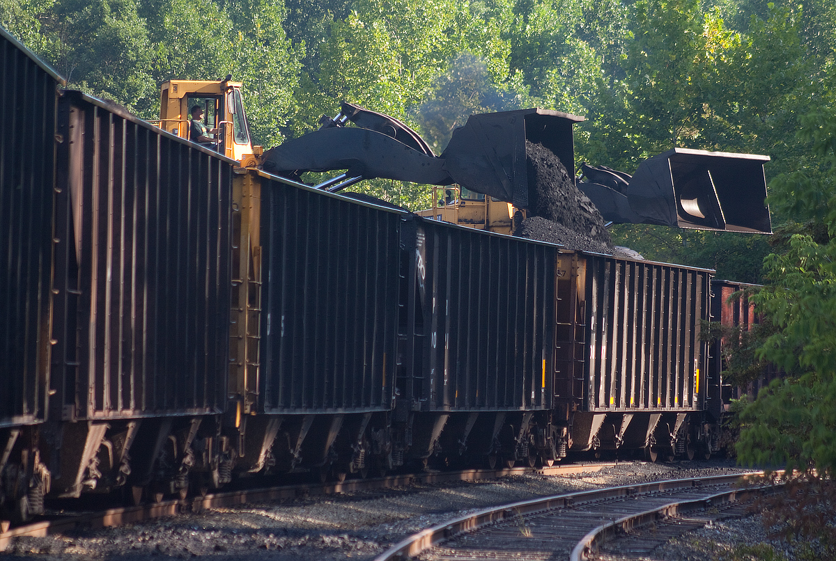 Coal Loading at Bullskin