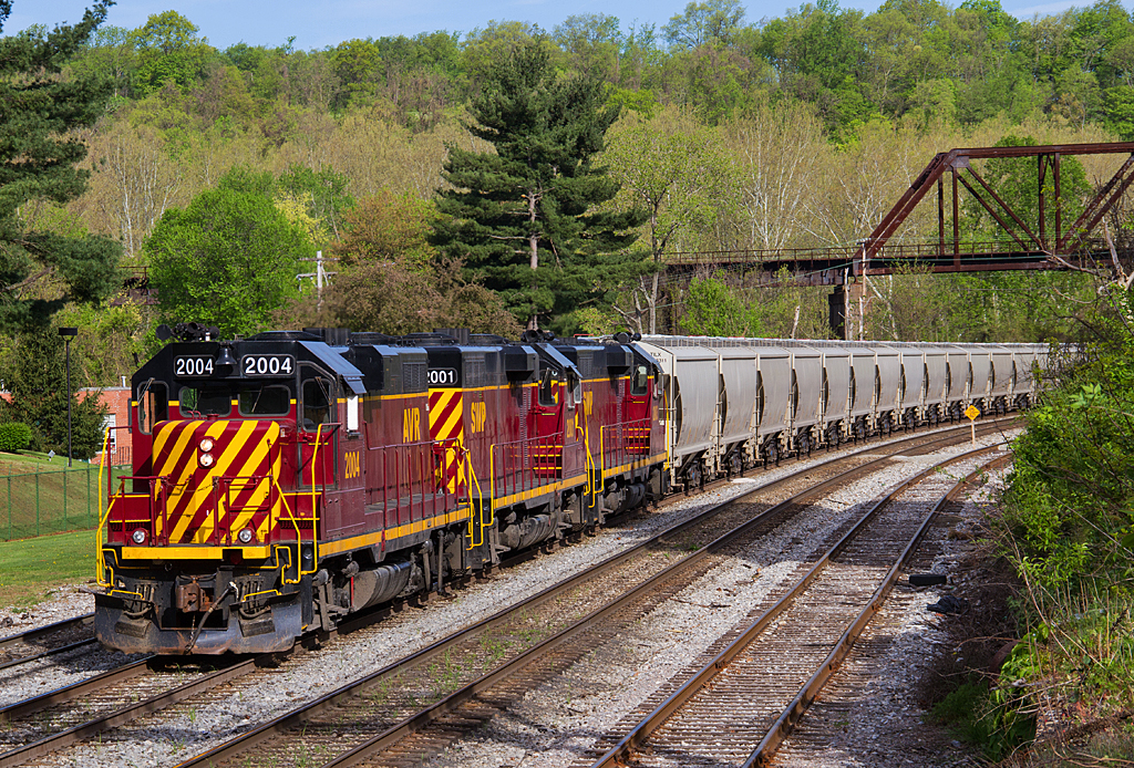 Sand Train at Connellsville, Pa