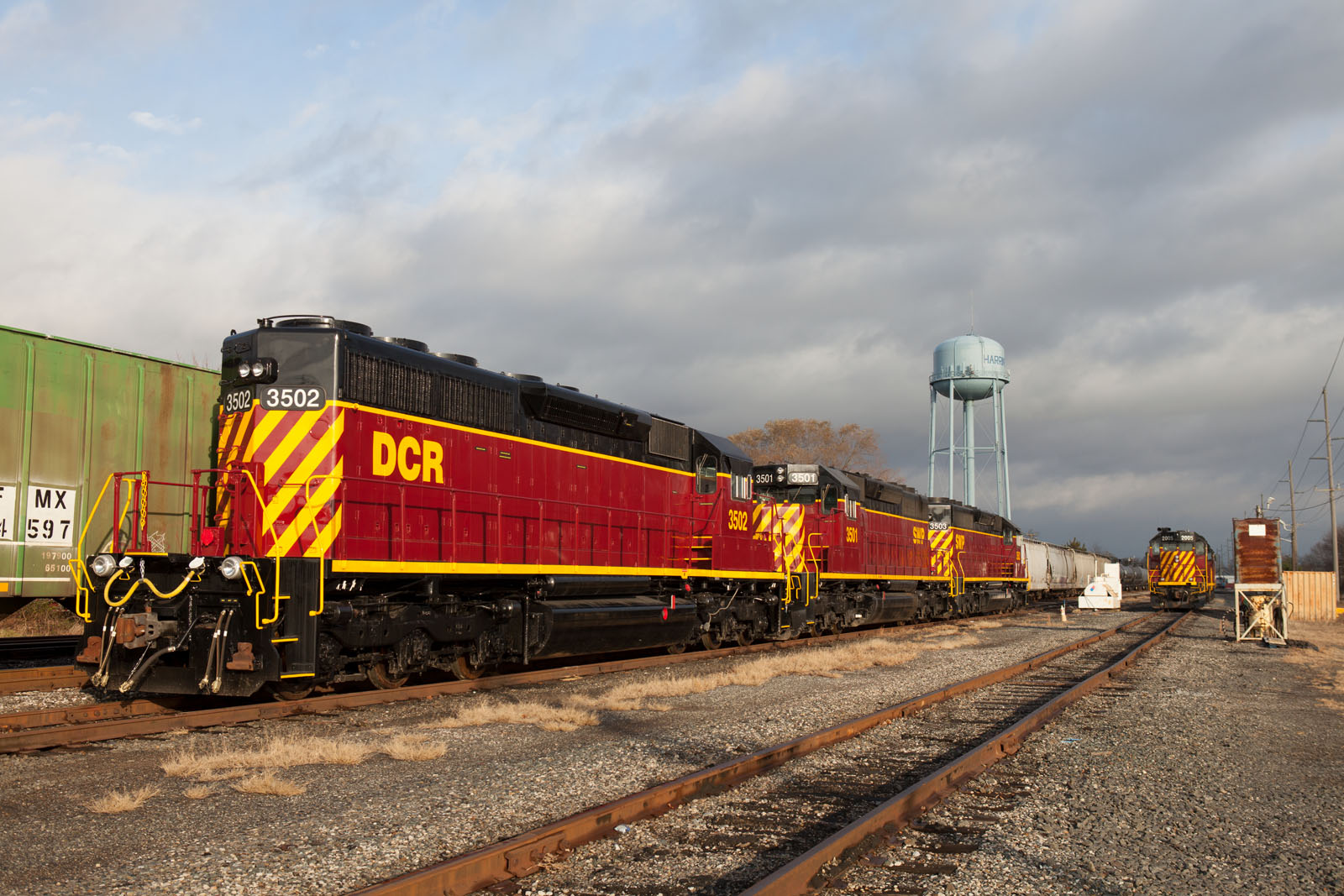 DCR 3502 at Harrington